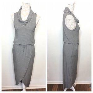 Dolan Anthropologie Asymmetric Midi Dress 1150